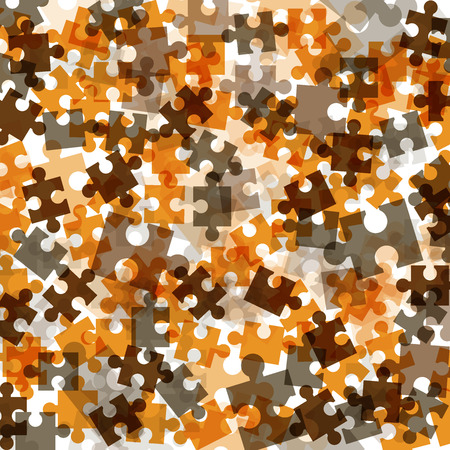 puzzle background: Puzzle background template