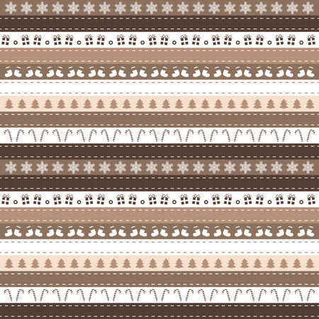 stripe: Christmas stripe pattern background design for commercial and private use Illustration