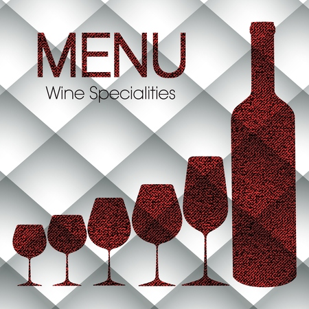white riesling grape: Abstract wine menu templates for restaurants, bars and beverages