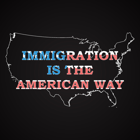 immigration: USA - Immigration is the american way
