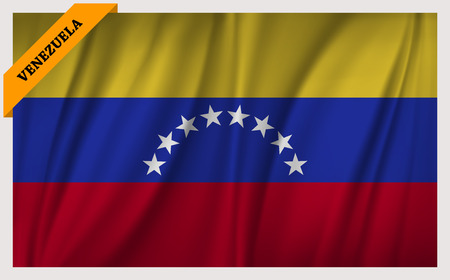 edition: National flag of Venezuela - waving edition