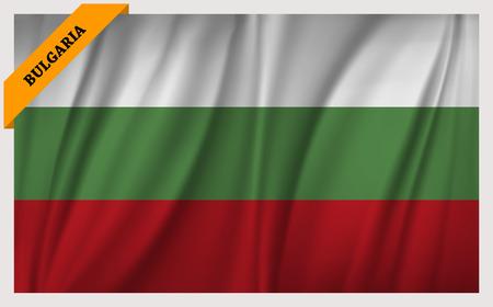 edition: National flag of Bulgaria - waving edition
