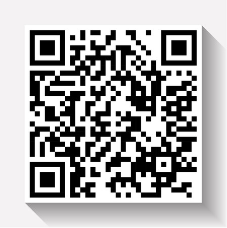 QR Codes - Quick Response Code business type background template