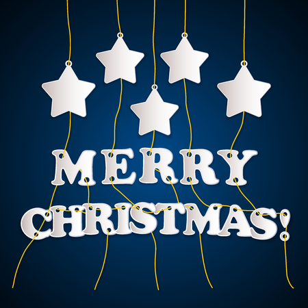 Merry Christmas! - greeting card template background