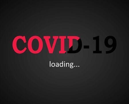 Covid 19 virus loading - fight against coronavirus disease