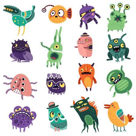Monsters color set