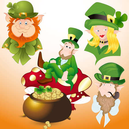 Patrick s Day Cartoon Vectors Vector