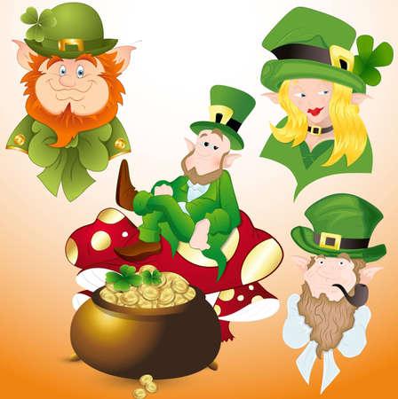 Patrick s Day Cartoon Vectors Stock Vector - 12498283