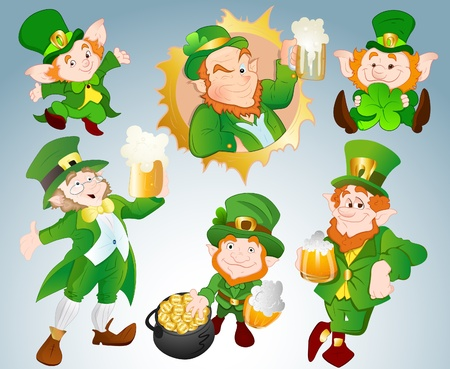 Patrick s Day Ireland Festival Vectors Stock Vector - 12498290