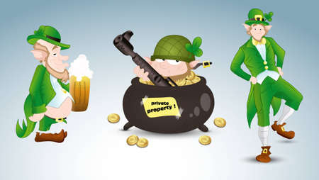 Patrick s Day Stock Vectors Vector