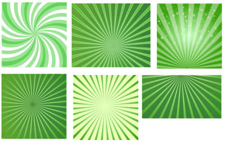 Patrick s Day Sunbursts Vector