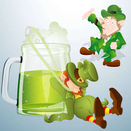 St  Patrick s Day Characters Vectors Vector
