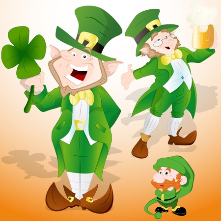 St  Patrick s Day Leprechaun Vector