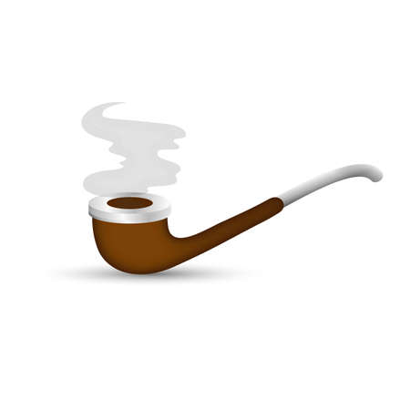 Smoking Pipe Illustration Vector