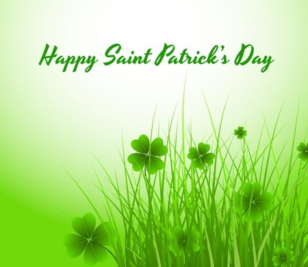 clover banners: St  Patrick�s Day Background