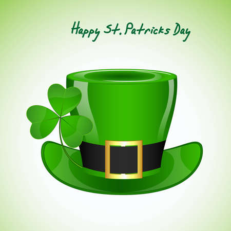 St  Patricks Day Hat Vector