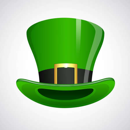 St  Patricks Day Leprechaun Hat Vector
