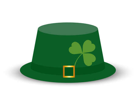 Green Leprechaun Hat Vector