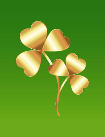 Abstract Shamrock Vector