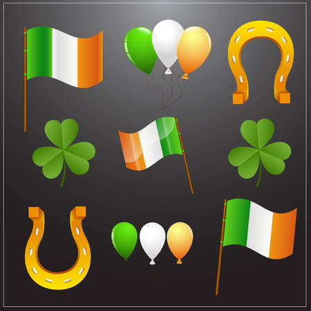 Saint Patrick's Day Vector Elements Stock Vector - 12655028