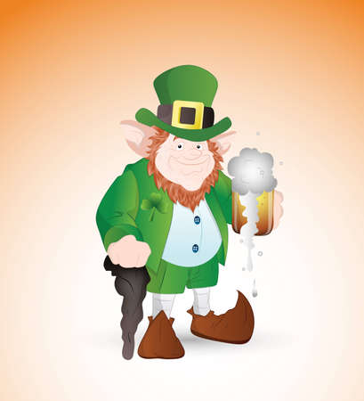 Adult Leprechaun Vector