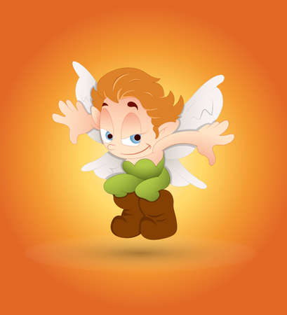 Cute Leprechaun Vector