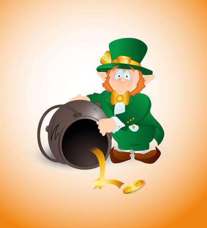 dizziness: Leprechaun Find Golden Coin