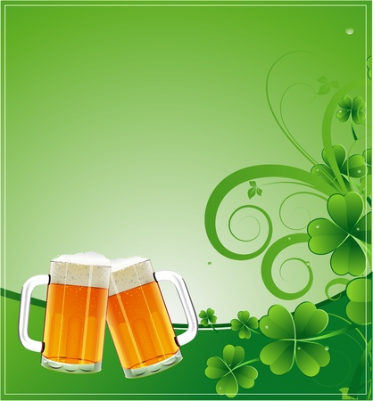 beer card: Festive Background