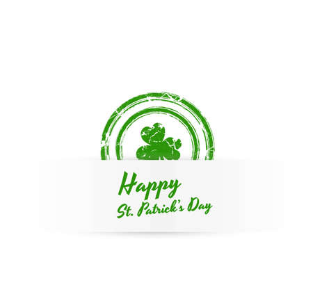 Patrick's Day Grunge Banner Stock Vector - 12654699
