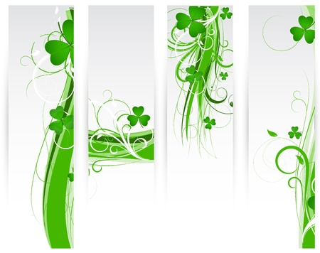 Festive Floral Banners Stock Vector - 12654588