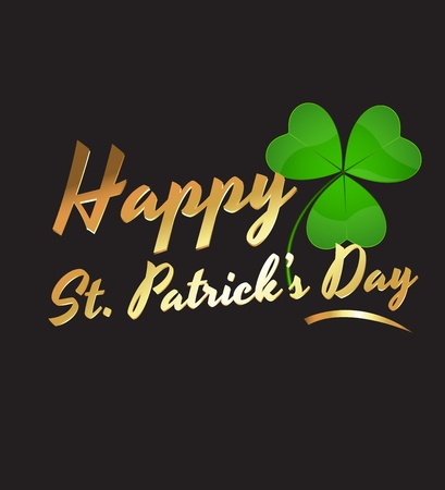 Happy St Patrick's Day Stock Vector - 12654794