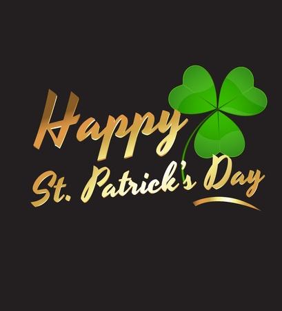 Happy St Patrick's Day Stock Vector - 12654794