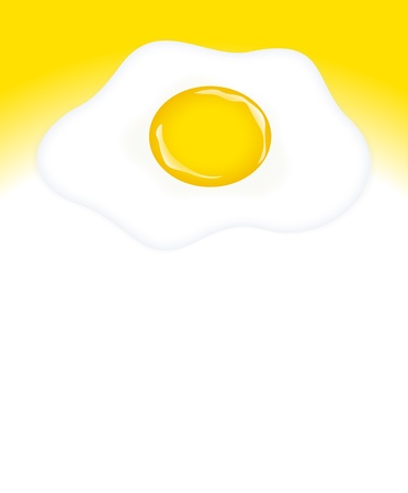 Abstract Egg Yolk Background Vector