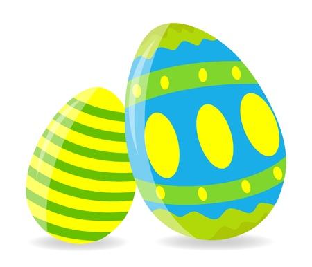 broken eggs: Easter Eggs Illustration Illustration
