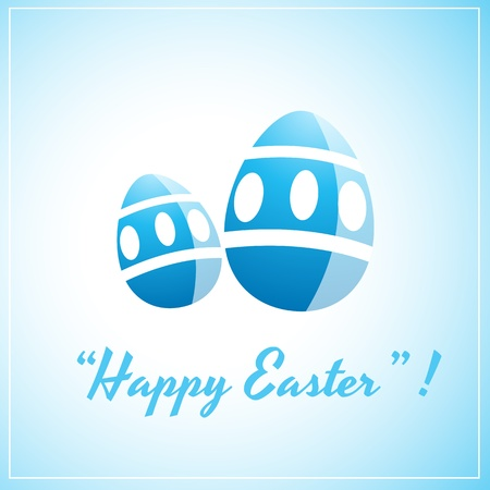 Easter Egg Template Design Vector