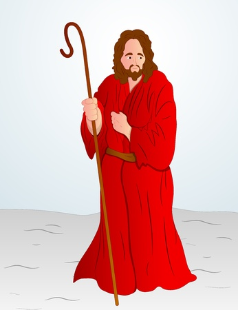 Vector Illustration of Jesus Christ Vector