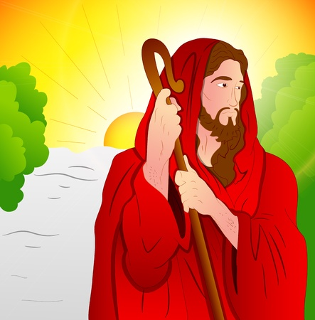 Art of Jesus Christ Vector