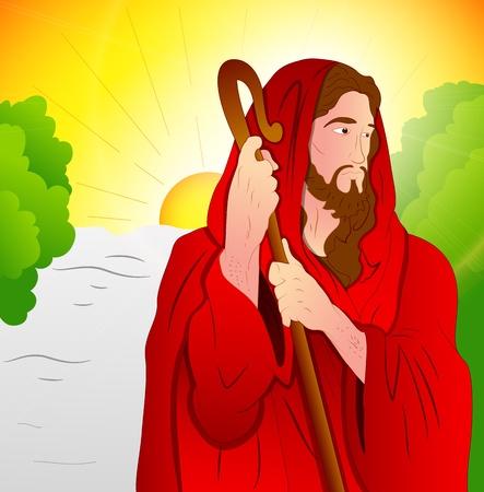Art of Jesus Christ Stock Vector - 12771766