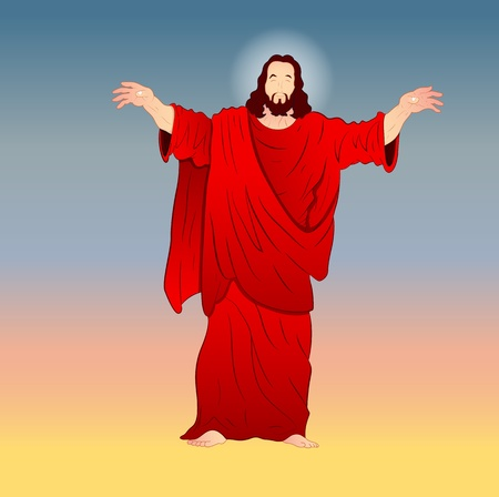 Jesus Christ Vector Illustration Stock Vector - 12771676