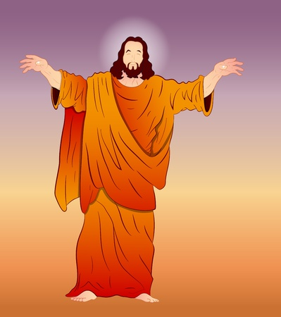 Vector Art of Jesus Christ Vector