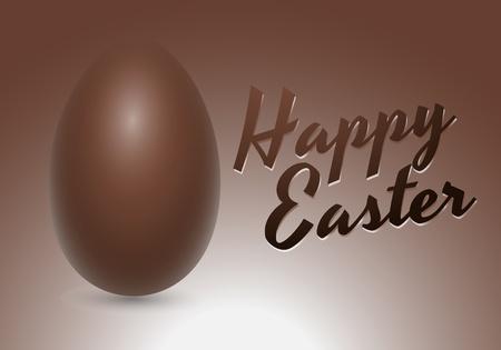 Chocolate Vector Egg Card Vector