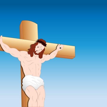 Jesus Christ Portrait Vector