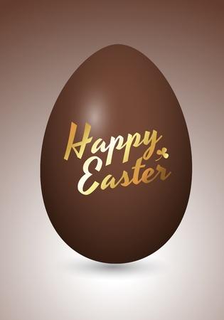 chocolaty: Chocolaty Easter Egg Illustration