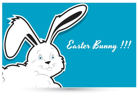Easter Bunny Vector Background Vector
