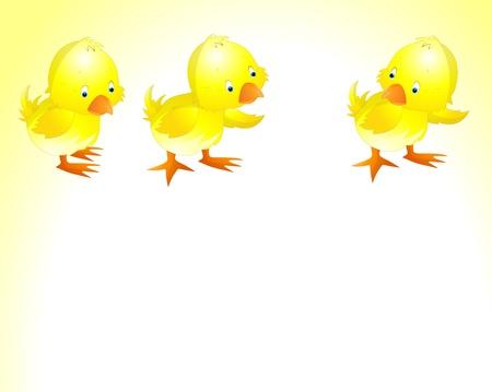 Ilustración de la Semana Santa de pollo Ilustración de vector