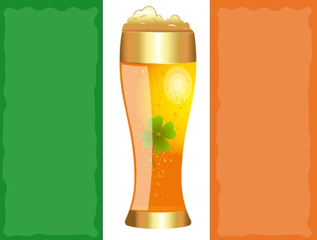 Beer Glass Stock Vector - 12859030