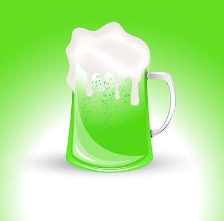 alehouse: Green Glass of Beer
