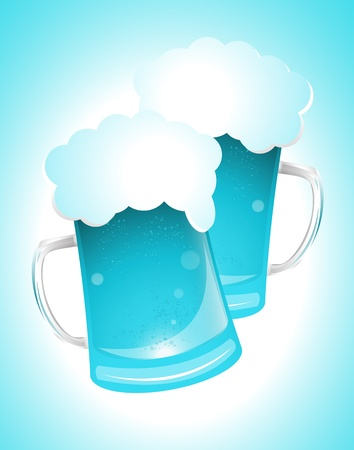 alehouse: Blue Glass of Beer