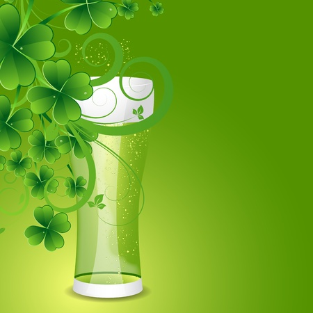 Pair of Glass of Beer Vector
