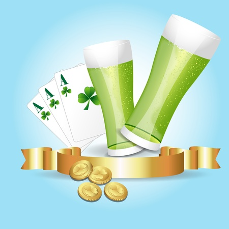 St  Patrick's Day Celebration Stock Vector - 12861449